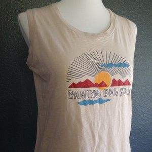 21d9ddffb5665 Madewell Tops - NWT MADEWELL Camino Del Sol Whisper Cotton Tank